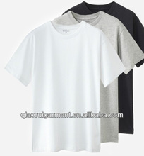 2013 Customed design Comfortable and breathable 100%Cotton men T-shirt with O-neck