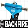 Backfire skateboard chrome parts trucks,chinese mini truck part