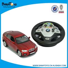 1:14 4 functions steering wheel radio control car