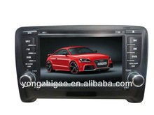 Wholesale fashion in-dash DVD player for AUDI-TT with BT/GPS/IPOD function