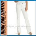 yeni stil beyaz kot kot levanta nakış tasarlanmıştır Bayanlariçin Yakası