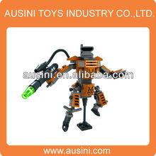 plastic cartoon building block for kid