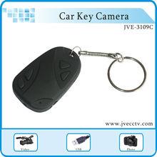 JVE-3109C 720P ,0.3-3.0 mega pixel car key chain Camera/Hidden Mini Camera keychain/DVR