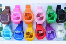 2013 Unisex custom silicone Jelly watch for Promotion&Gifts&Sports
