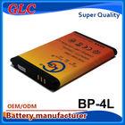 Long life phone battery E61 E90 E95 E71 E52 N97 battery bp-4l for NOK