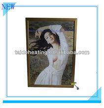 Beautiful carbon fiber electric heating painting