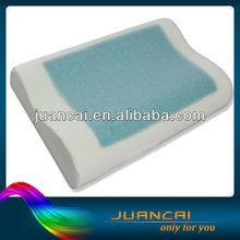 Most Popular Square Gel And Viscoelastic Foam Cool Gel Memory Foam Neck Pillow