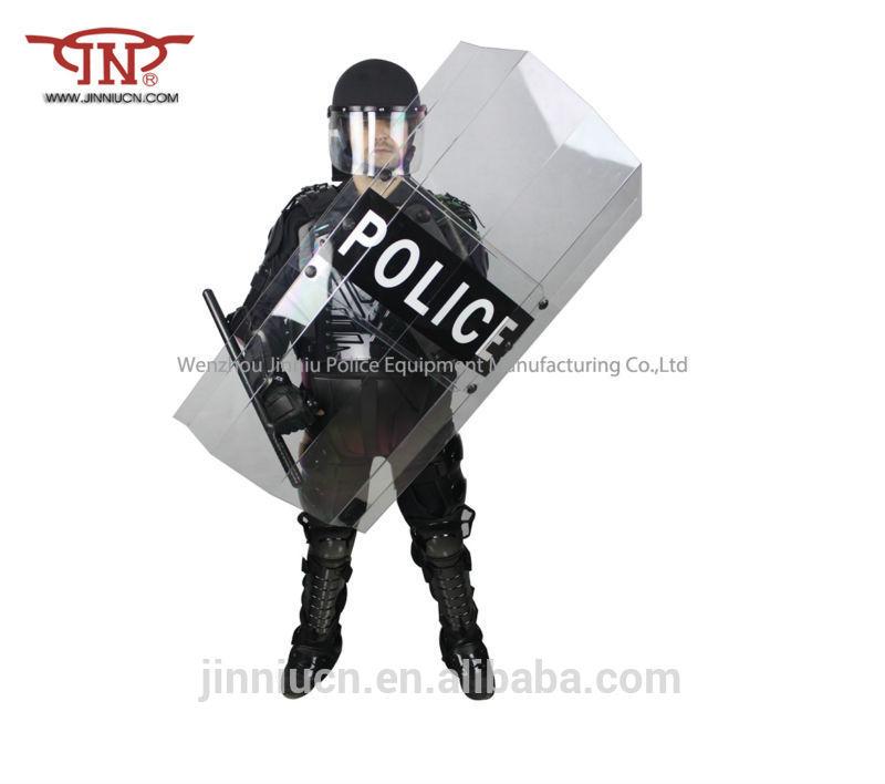Black Shield Police Police Protection Shield/ Riot