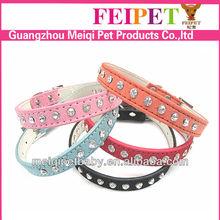 Diamond dog collars,colorful dog collars ,nice dog collar cheap