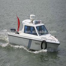 New SANJ fiberglass Cabin Cruiser/Patrol boat 680