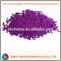 vários tamanhos de bola de alumina ativada etileno a remoção de sulfeto de hidrogênio e enxofre de dióxido de cloro de formaldeído de óxido nítrico