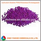 Various sizes Activated alumina ball removing ethylene hydrogen sulfide sulfur dioxide chlorine formaldehyde nitric oxide