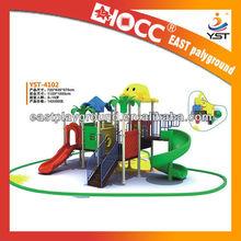 2013 safety interesting children outdoor playground slides YST-4102