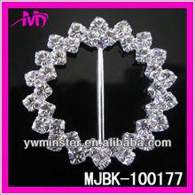 2013 wholesale round jewelry sash buckle for wedding