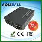 10g 1550nm 10/100 base media converter 100