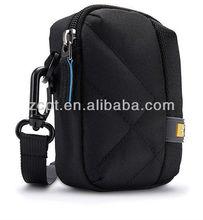 Polyester Single Shuolder Pack Protective Camera Bag Black