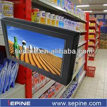 7 inch shelf ad player wifi/3g digital signage advertising for supermarket