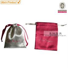 satin gift bag,silk drawstring gift satin bag
