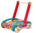 Los niños fuera de la puerta juguetes de ejercicio/baby bloquesdeconstrucción cochecito