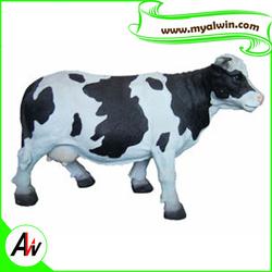 artificial cow sculpture decoration