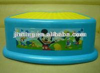 Stool, Footstool, Plastic footstool, colorful kids plastic stools