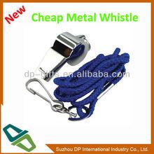 Hot Sale Custom Logo Football Fans Promotion Metal Whistle