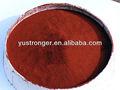 Óxido de hierro rojo pigmento