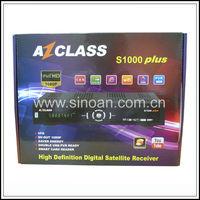 Azclass S1000 Plus HD Satellite Receiver Sharing Narga3 Free IKS