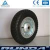 Rubber Wheel 3.50-7 / rubber wheels for trash bin / rubber wheels for boat trailer