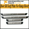 2010UP Genuine led car door sill scuff plate For Range Rover Sport