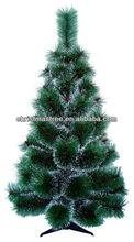5ft (150cm) PET small decorative artificial pine christmas trees