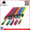 high quality colorful martial arts belts, karate belt manufacturers, taekwondo belt