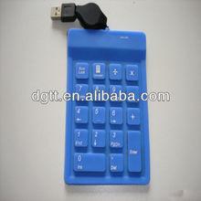 silicone keypad USB keys for computer