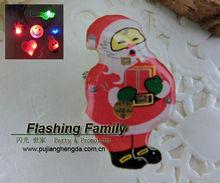 Jinhua Santa LED Flashing Badge Light Stick Factory in China