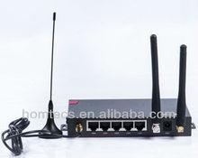 H50series Industrial 3G 4LAN Surveillance&Burglar Alarm Monitoring 4 port dual sim router