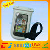 2014 promotional Hand phone waterproof bag for phone with armband