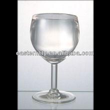 210ml 7oz Unbreakable Restaurant wholesale Tritan Wine glass cup