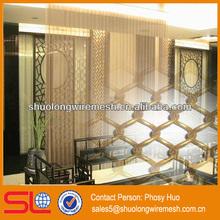 Decorative metal chain link curtain,metal beads curtain,indoor divider mesh curtain