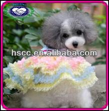 Fashion Cute Design Chiffon Pet Clothing Dog 2013