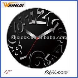 Glass Wall Clock Design Wall Clock Dial Can Do Oem Clock