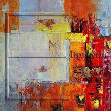 Heavy Acrylic painted Abstract Canvas Art