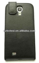 Largely supply !! 2013 New design PU+PC leather Casebelt clip holster case for samsung galaxy s4 i9500