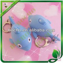 Giant salamander plastic key ring