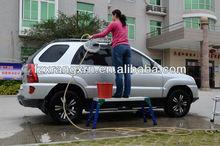 Car washing aluminum adjustable work platform