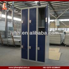 Blue Printing Police use 2 section 6 door digital locker lock steel safe electronic locker