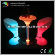 illuminate led bar high table with 16 colors