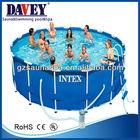Above ground intex swimming pool