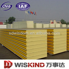 PU exterior wall siding panels for prefabricated house