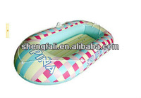 Inflatable pvc one person flying fish boat