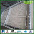 Popular por inmersión en caliente galvanizado / PVC recubierto de soldadura de la parrilla de hierro esgrima Gate